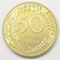 50 centimes 1962