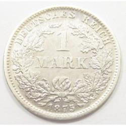 1 mark 1875 F