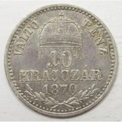 10 kreuzer 1870 KB