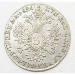 Franz II. 3 kreuzer 1826 A