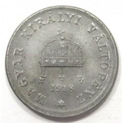 2 fillér 1918