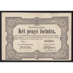 2 pengő forintra 1849