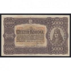 5000 korona 1923
