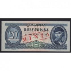 20 forint 1957 - MINTA