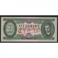 10 forint 1962 - MINTA