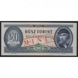 20 forint 1960 - MINTA