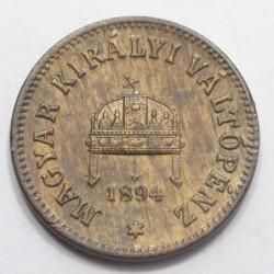 2 fillér 1894