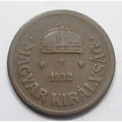 2 fillér 1932