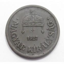 2 fillér 1927