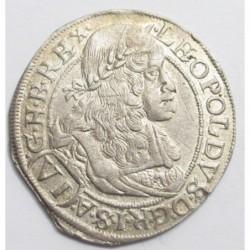 Leopold I. 6 kreuzer 1665 CA - Wien