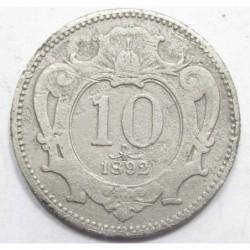 10 heller 1892