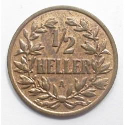 1/2 heller 1904 A