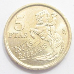 5 pesetas 1997 - Balearic Islands