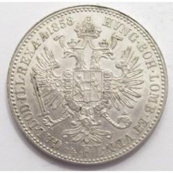 1/4 florin 1858 A