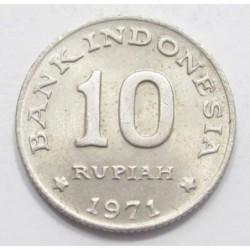 10 rupiah 1971