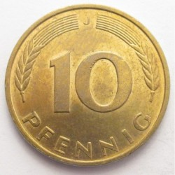 10 pfennig 1995 J