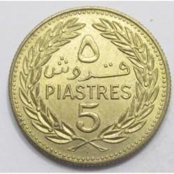 5 piastres 1972