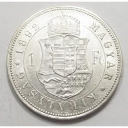 1 forint 1892