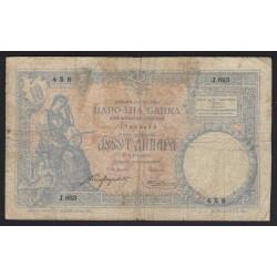 10 dinara 1893