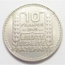 10 francs 1949