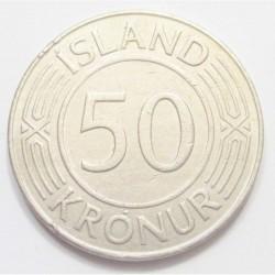 50 kronur 1975