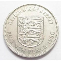 5 pence 1980