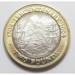 2 pounds 2004 - 300th anniversary of the British occupation