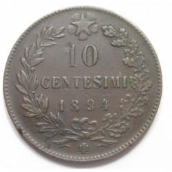 10 centesimi 1894