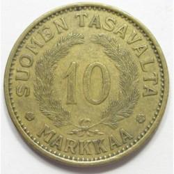 10 markkaa 1930