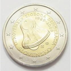 2 euro 2009 - Anniversary of freedom