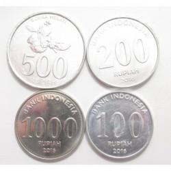 Indonesian Rupiah set 2003-2016