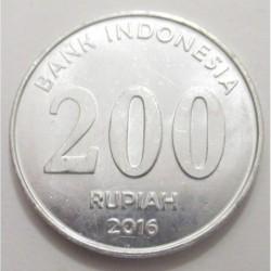200 rupiah 2016