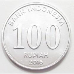 100 rupiah 2016