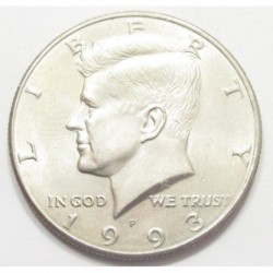 half dollar 1993 P