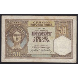 50 dinara 1941