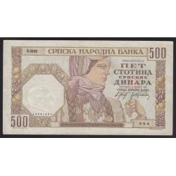500 dinara 1941