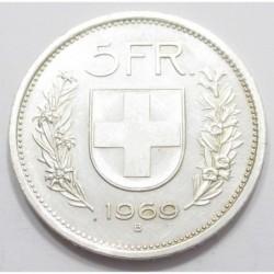 5 francs 1969