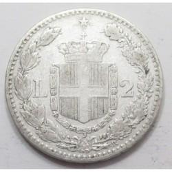 2 lire 1881