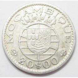 20 escudos 1960