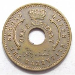 1/2 penny 1959