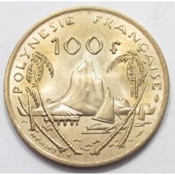 100 francs 1976
