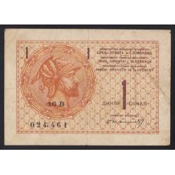 1 dinar 1919