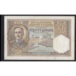 50 dinara 1931