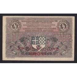 1/2 dinara/2 krune