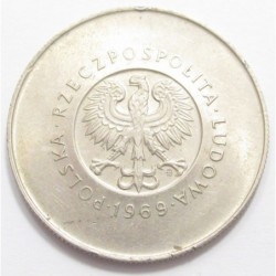 10 zlotych 1969 - The Polish People s Republic 25th