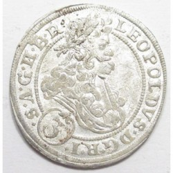 Leopold I. 3 kreuzer 1696 CB - Brieg