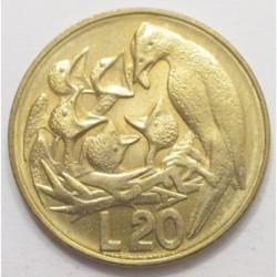 20 lire 1975 -FAO