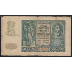 50 zlotych 1940