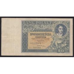 20 zlotych 1931