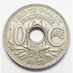 10 centimes 1922